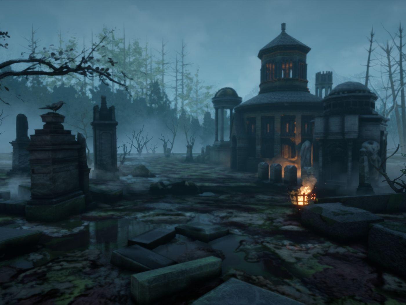 Dusk Graveyard