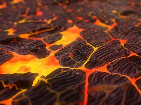 Stylized Lava Floor