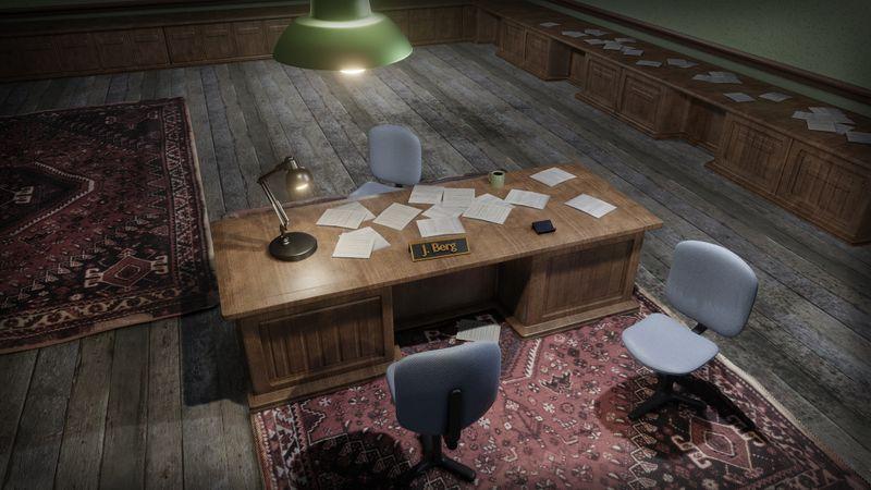 J. Berg's Office