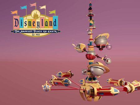 Disneyland's Astro Orbiter