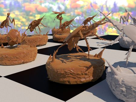 Insect Chess Set