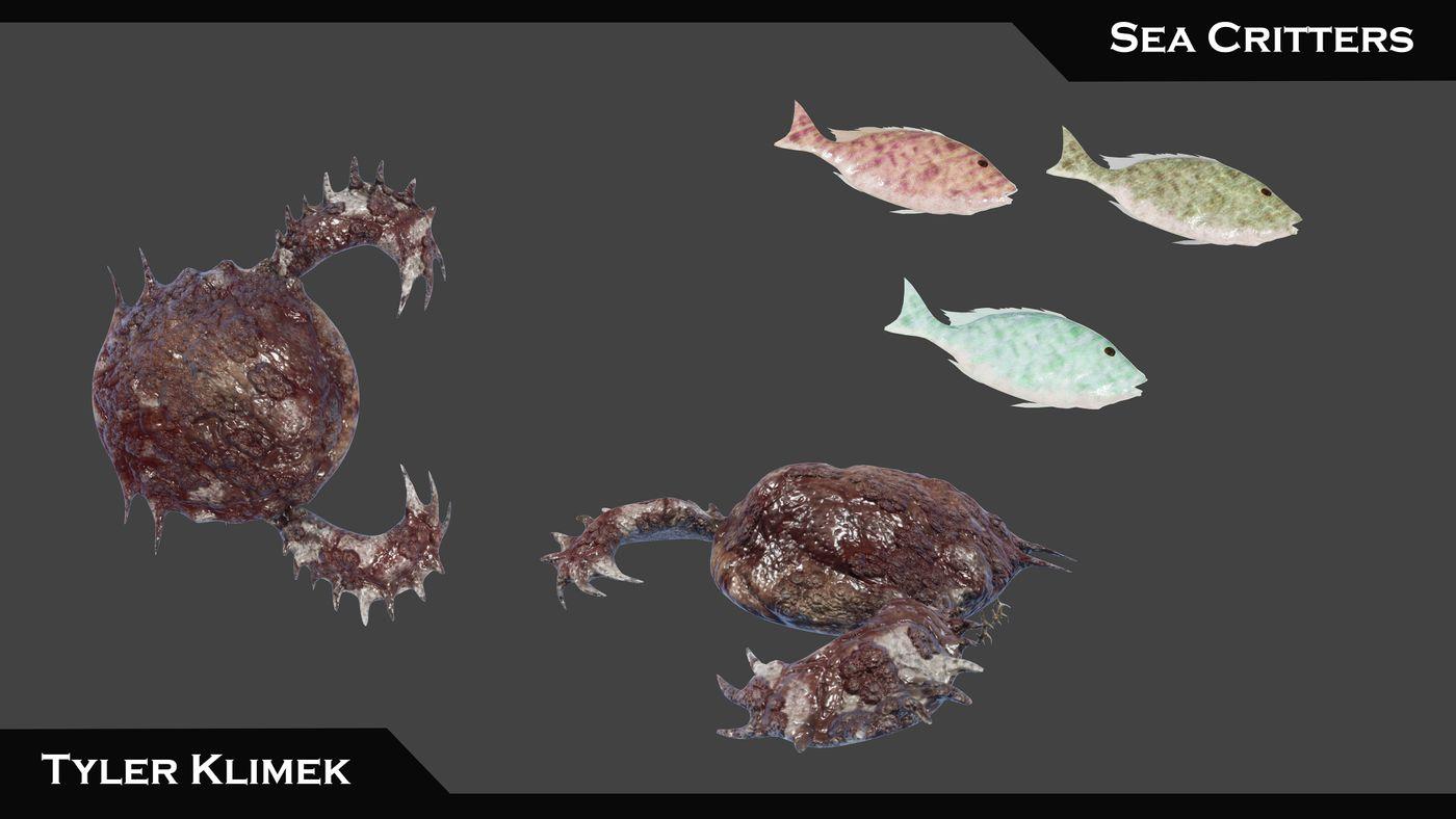 Breakdown Sea Critters Tylerklimekartist