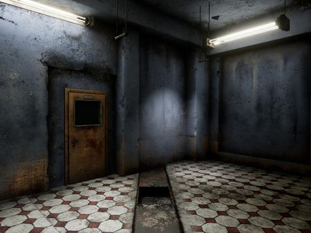 Texturing: Abandoned Room