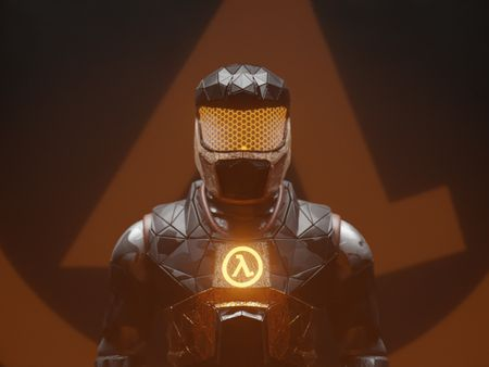 Half Life Generative HEV Suit Concept