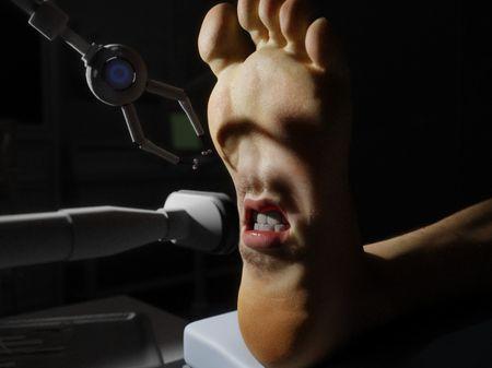 Screaming Foot - SCI-FI Short