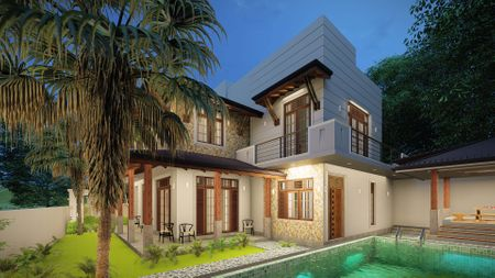 Exterior Private house