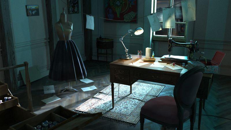 bureau de Christian Dior