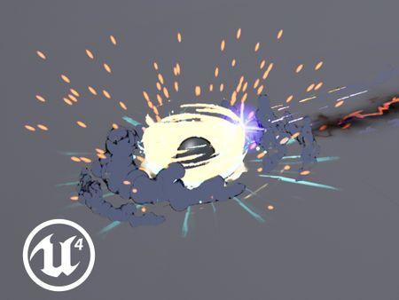 Explosion - UE4 VFX