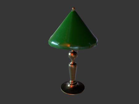 Anne Carwell 1890, Desk Lamp