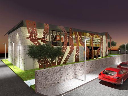 Restaurant Design for Enfin by James Won