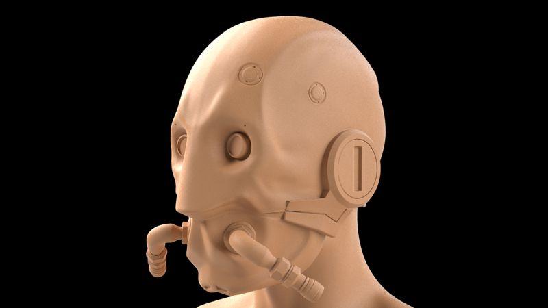 Sci fi Headgear
