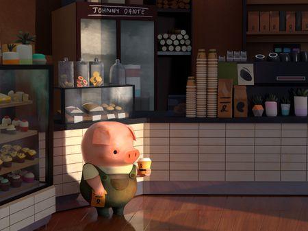 Pig Cafe, Mobile Media, Skull Creature