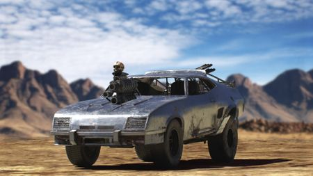 mad max fury road interceptor car