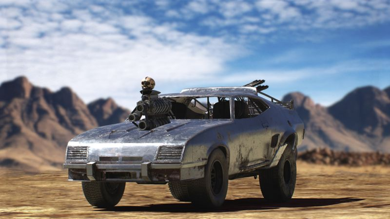 mad max fury road interceptor car