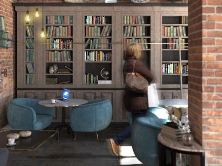 Library Cafe