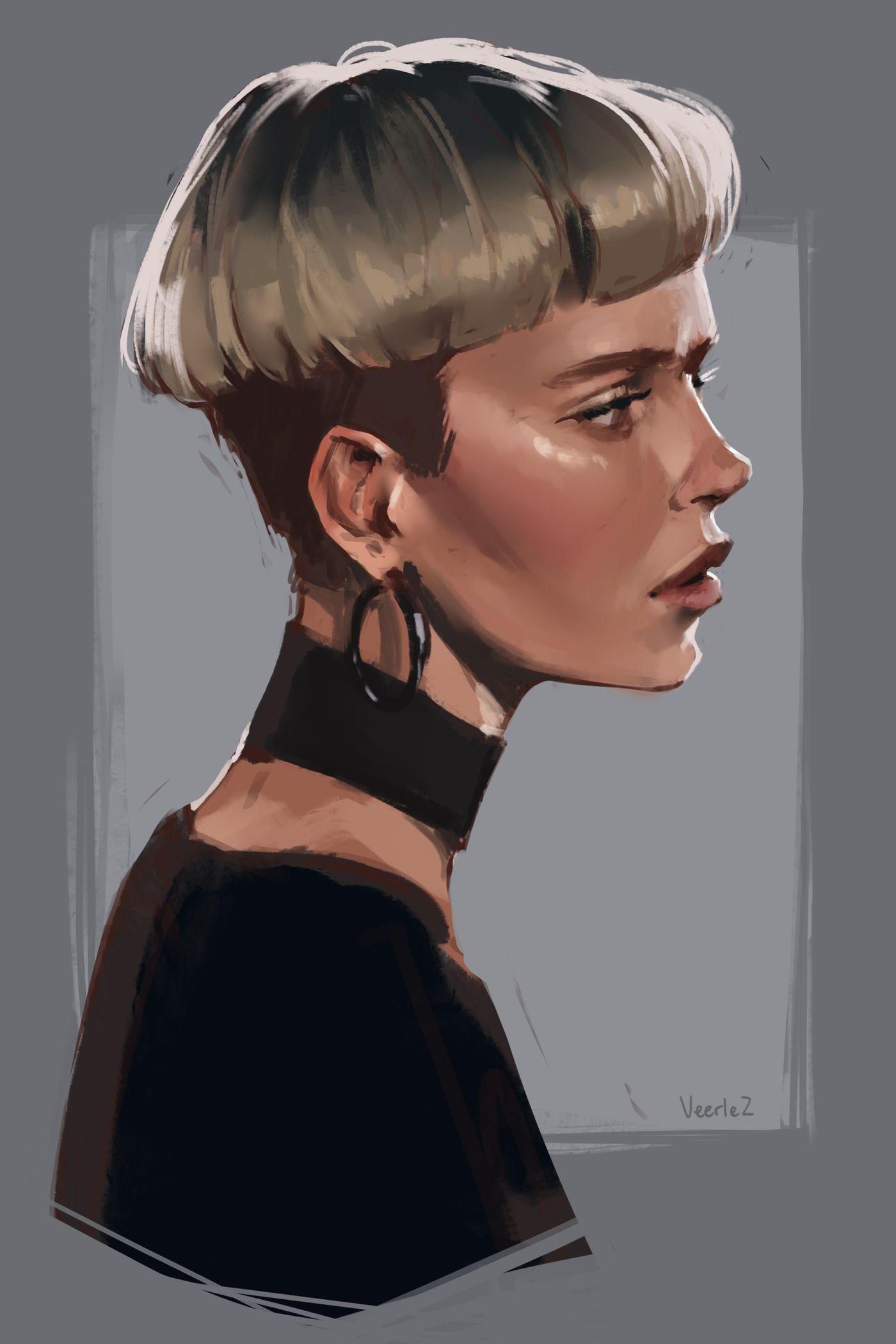 Portrait 11 December Veerle
