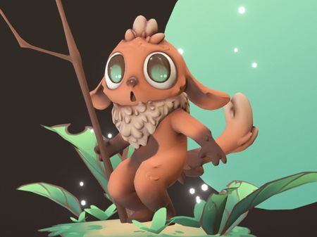 Lost in the Jungle - 3D character