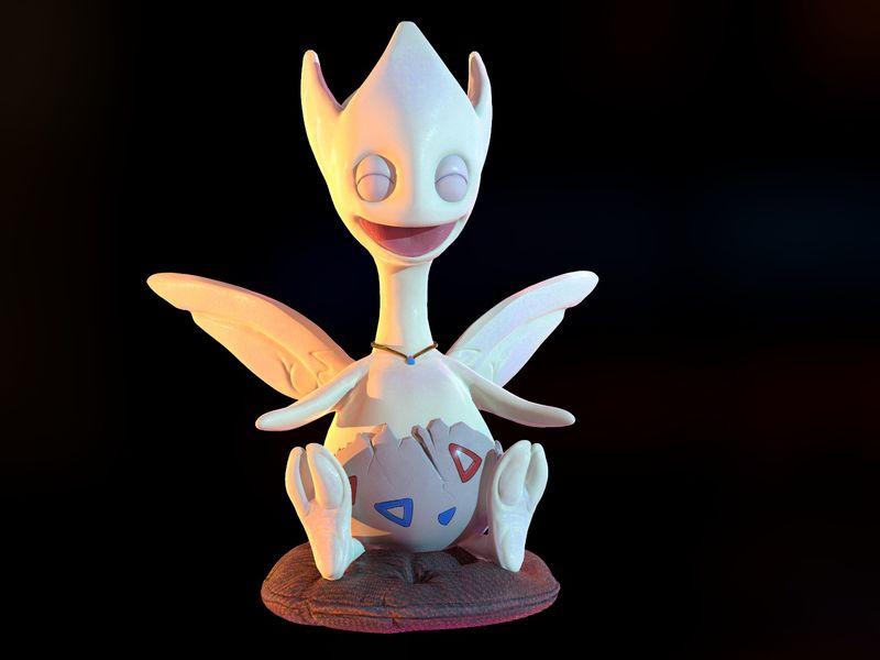 The Little Fairy - Togetic Pokémon Fanart
