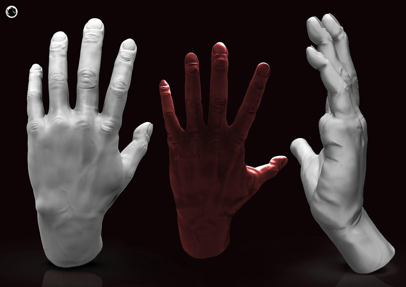 Clara L Vegel Grady Render Man Hand 01 Vegelgrady
