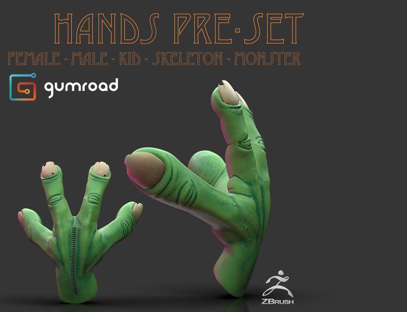 Hands Pre-set