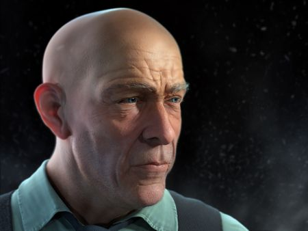 JK Simmons Portrait