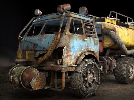 Metro Exodus Truck