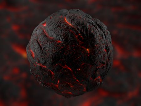 Lava PBR Material made with Substance Designer + Full-process Tutorial