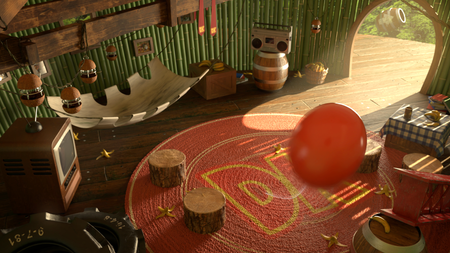 Donkey Kong's House