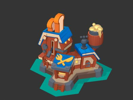Medieval Toaster in 3D