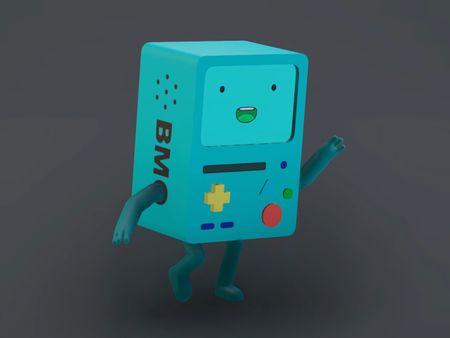 Little Robot Fanart