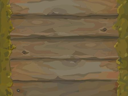 Hand painted tileable wood & stone texture