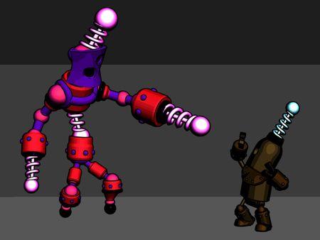 Nøde Enemy Robot 3D