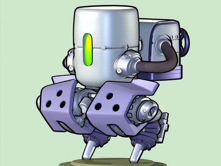 Jump Robot 3D