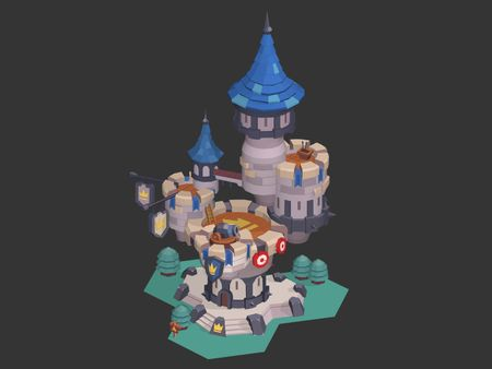 Medieval Castle in 3D