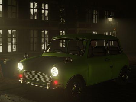 MrBean Leyland mini iconic car 3D model
