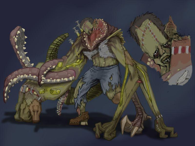 Frankenstein_Creature_2D_Challege