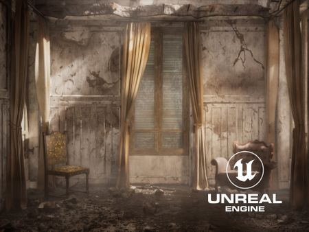 Abandoned Room - Real Time
