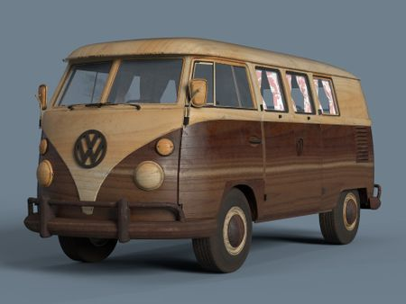 Kombi - The Wooden Toy