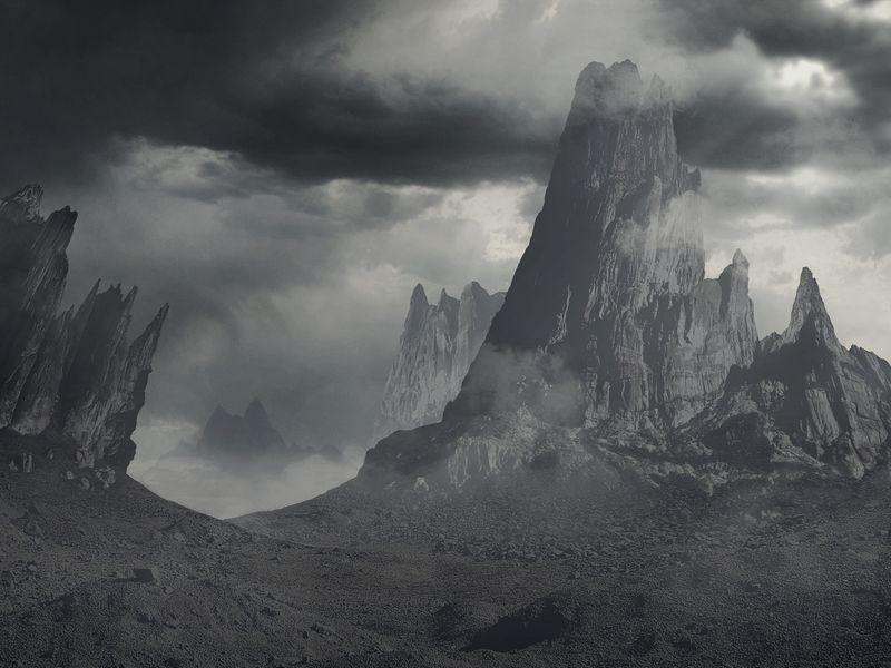 Desolate Alien Planet