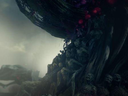 Darkwood: the talking tree