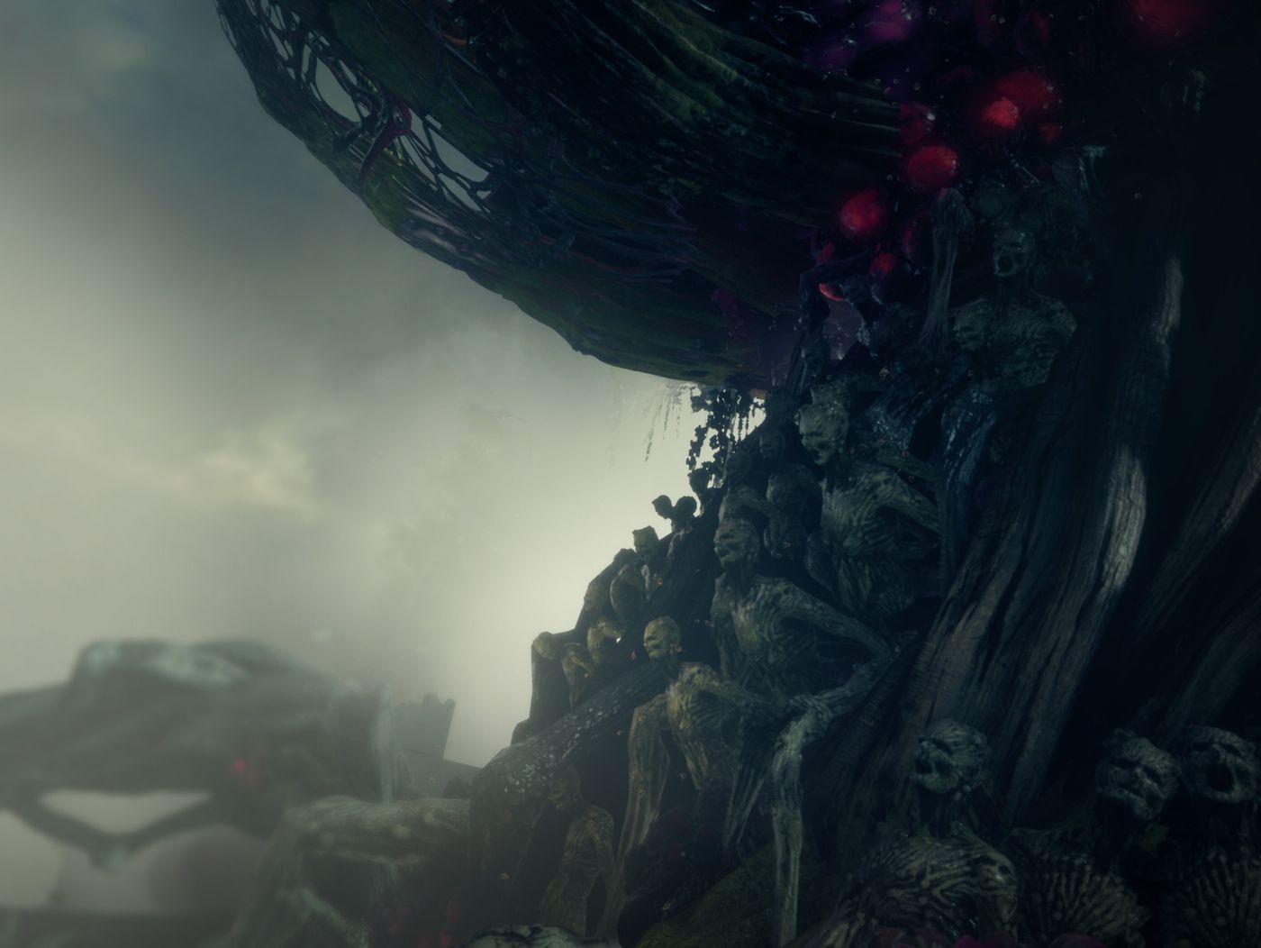 Darkwood:The talking tree/ Metro:Last hope
