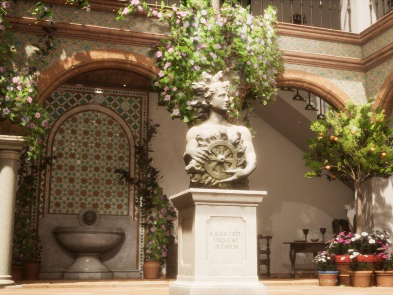 Sculptors' Courtyard