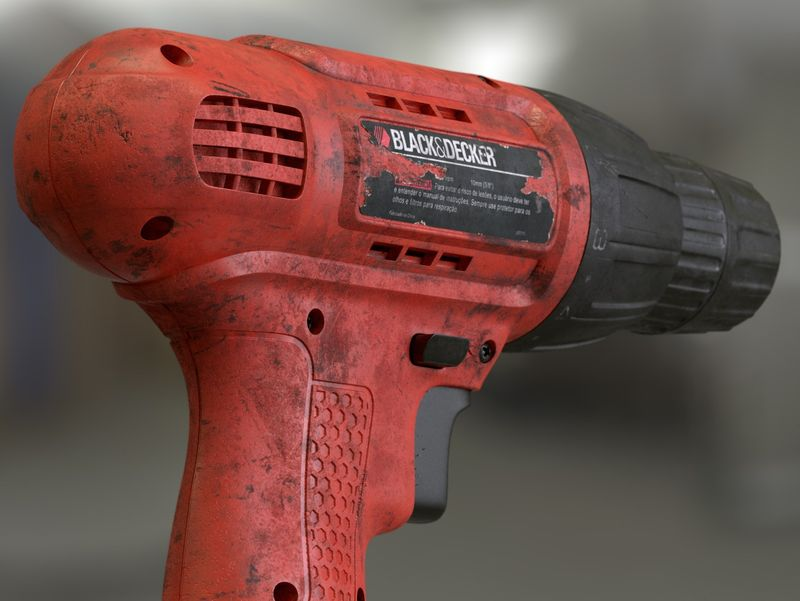 Black & Decker Busted Drill