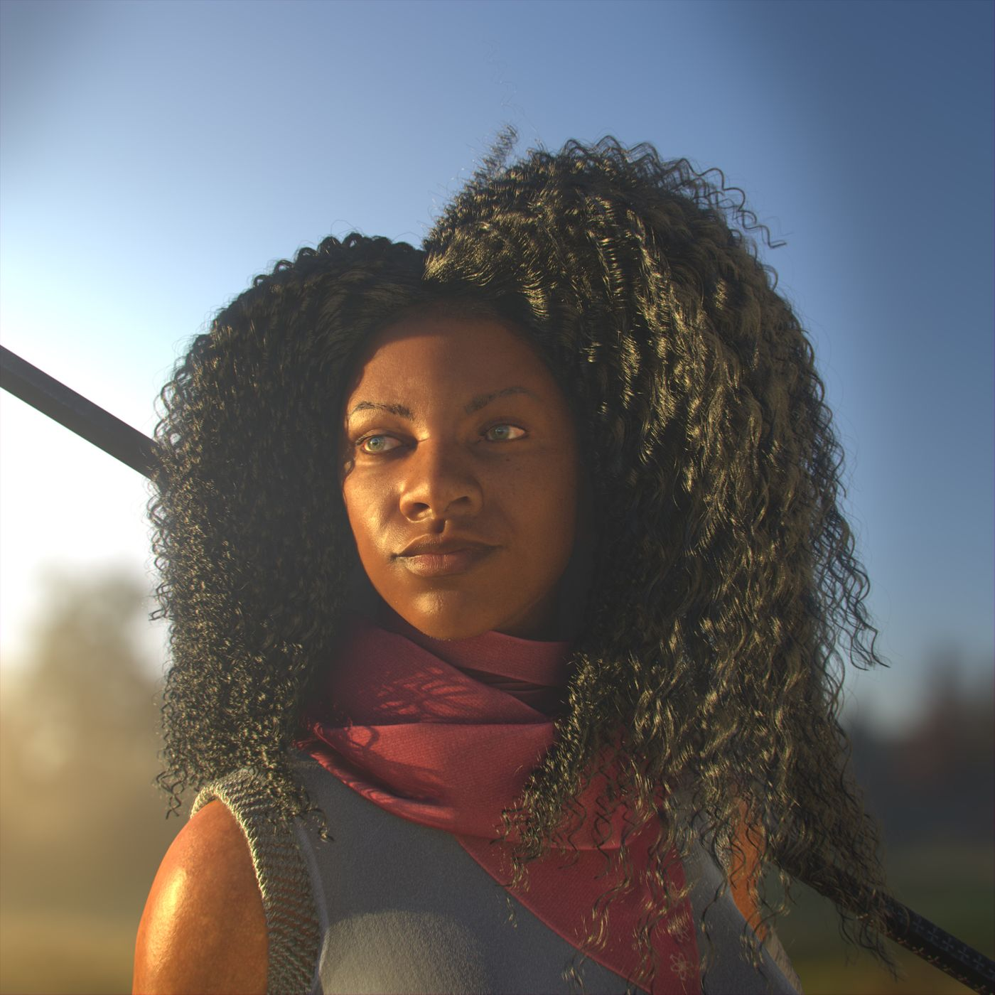 Rya ,Leo Bonhart : The Bounty Hunter ,Fantasy Bug Warrior and Purple Wax
