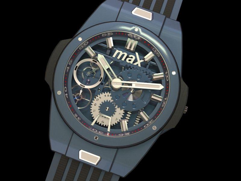 watch, jewellery box and jaguar SS100