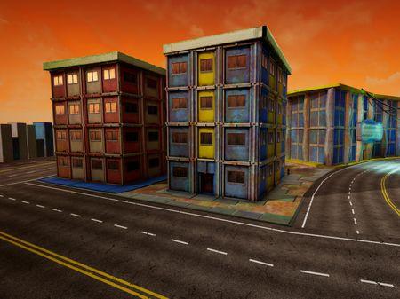 Modular Trimsheet City