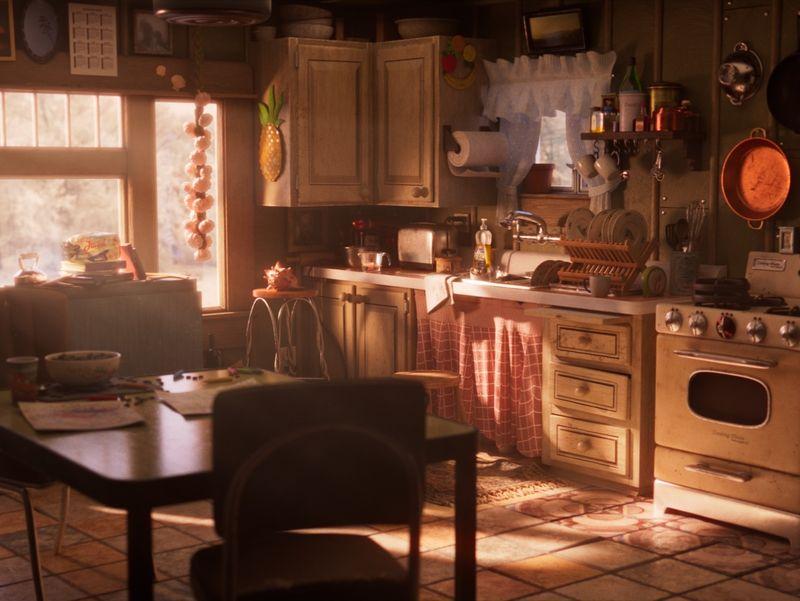 Pixar Kitchen