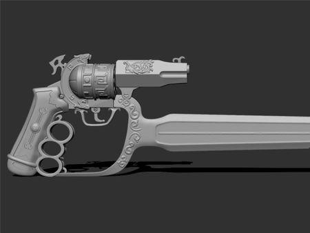 Hero Prop Gun