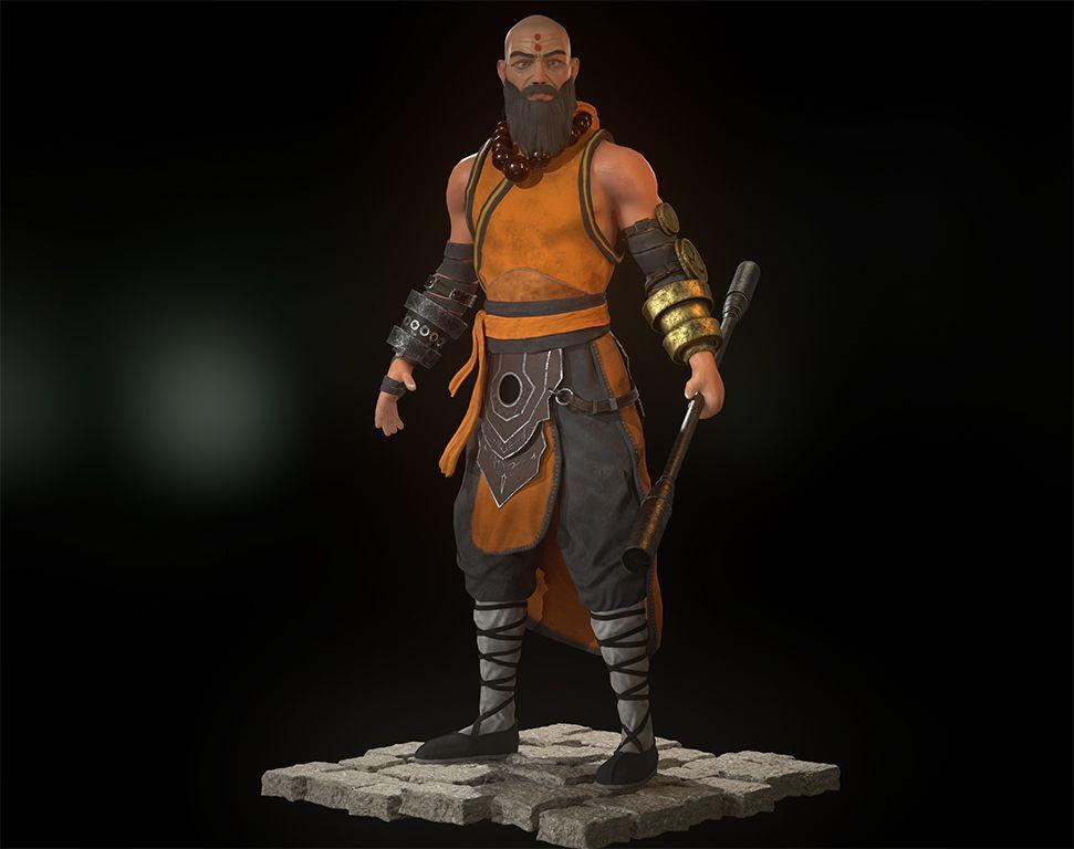 Monk%20front Vinoth