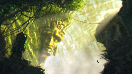 Matte painting - Hidden in the jungle